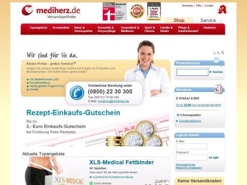 Versandapotheke mediherz.de