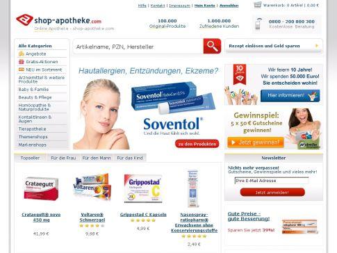 Versandapotheke shop-apotheke.com